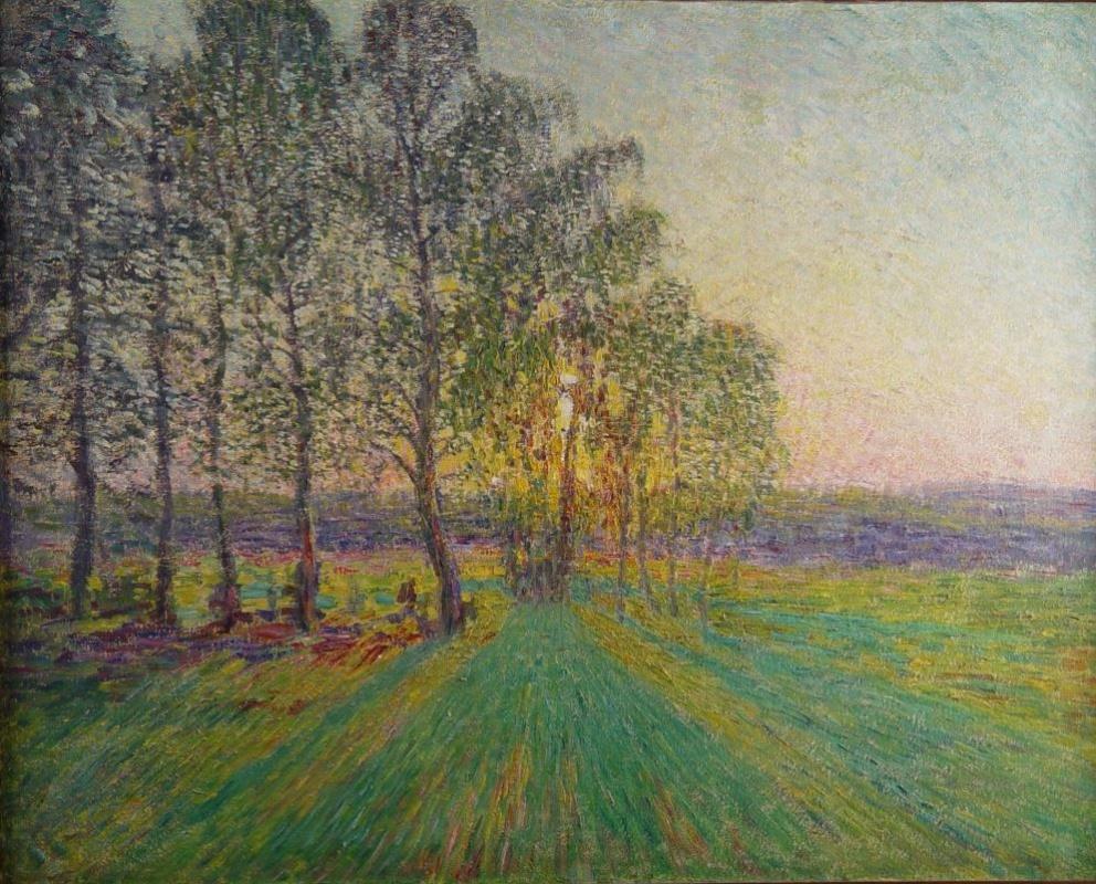 Igor Grabar. Sunset