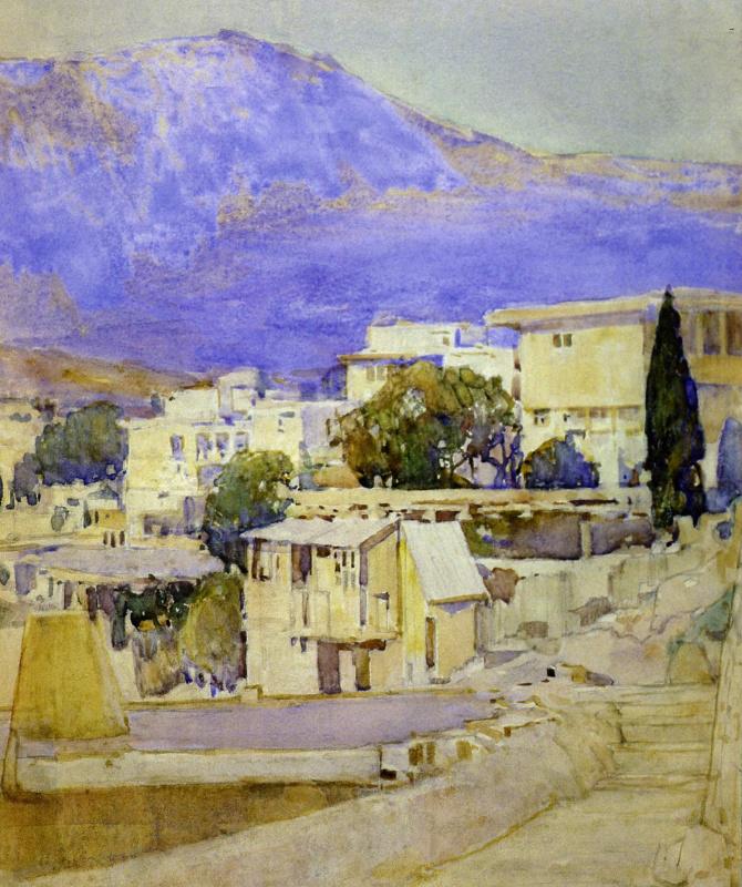 Vasyl Hryhorovych Krychevsky. Southern landscape