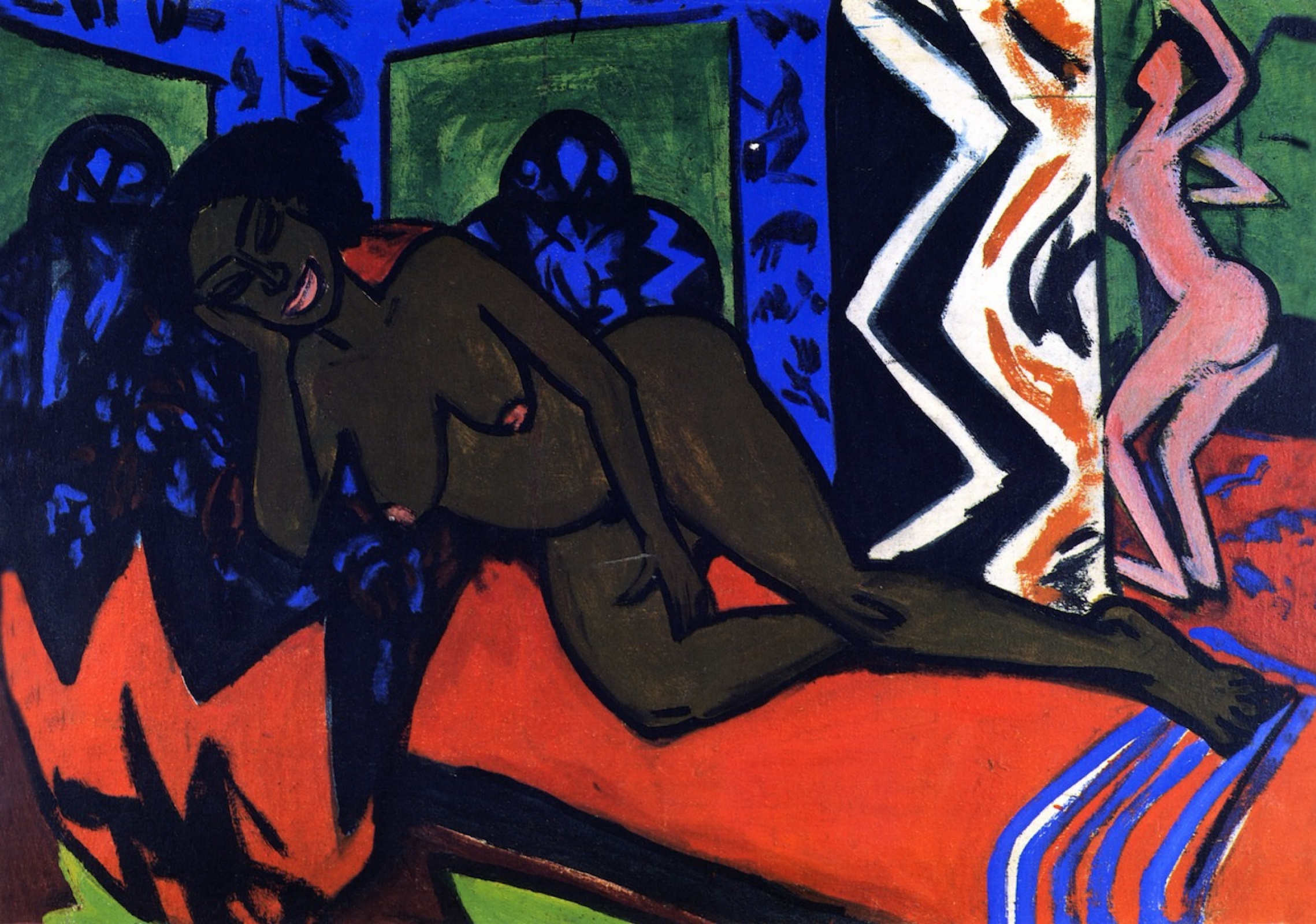 Ernst Ludwig Kirchner. Sleeping Milly