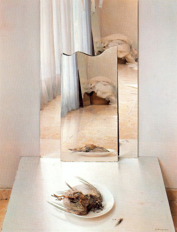 Эдуардо Наранхо. Белая тарелка