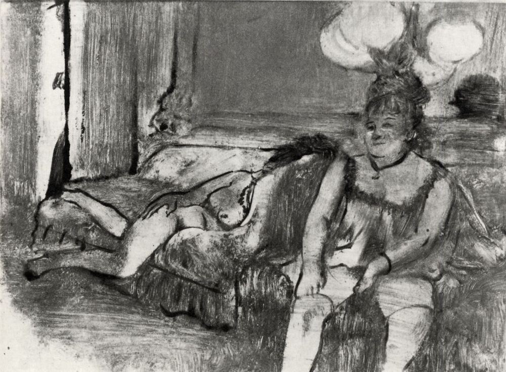 Edgar Degas. Stay
