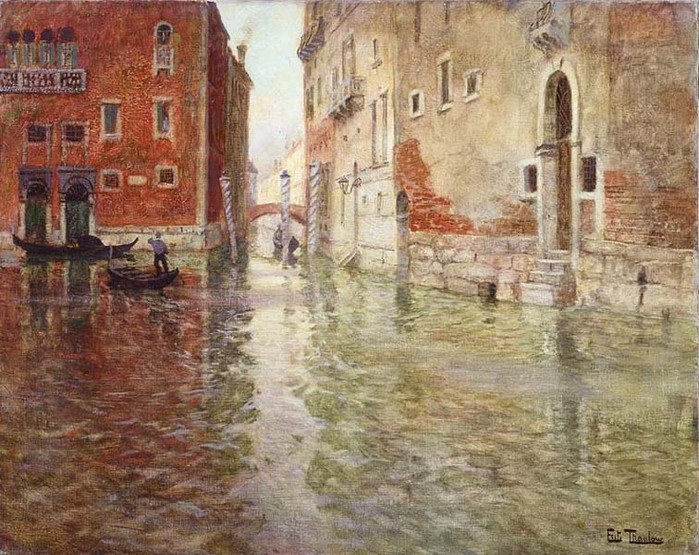 Frits Thaulow. A Spot in Venice