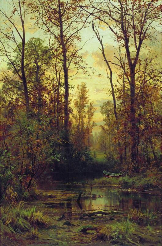 Ivan Ivanovich Shishkin. Forest Creek. Autumn