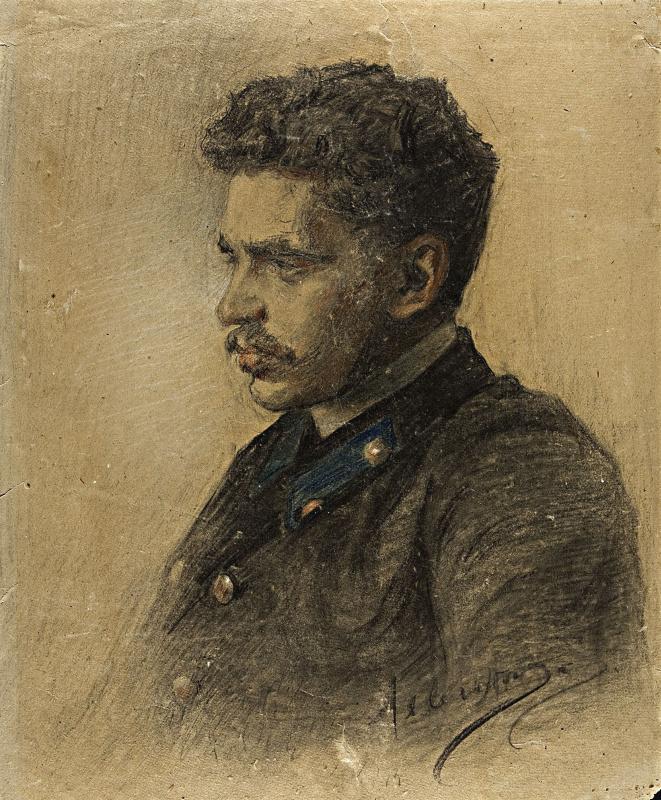 Исаак Ильич Левитан. Студент
