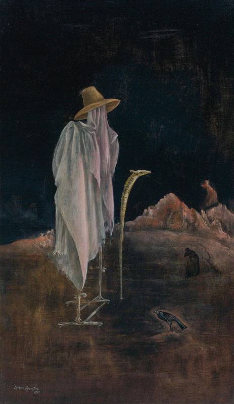 Leonora Carrington. Self-portrait with orthopedic brace