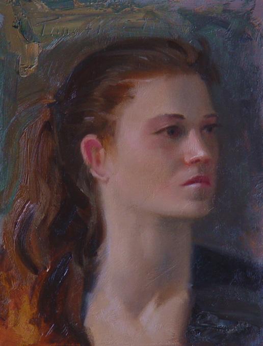 Тим Тайлер. Портрет девушки