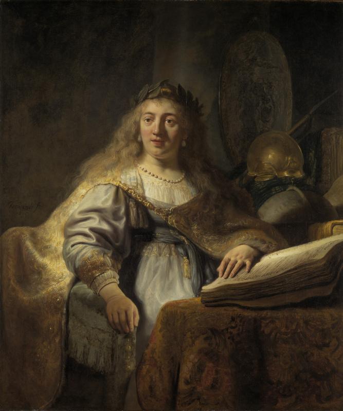 Rembrandt Harmenszoon van Rijn. Minerva