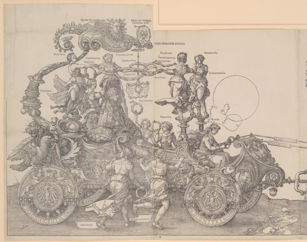 Albrecht Dürer. Triumphal chariot of Maximilian I