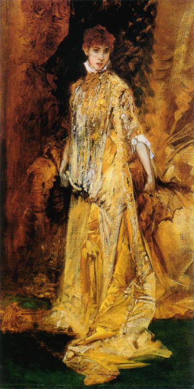 Hans Makart. Sarah Bernhardt