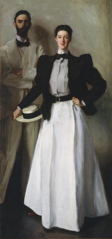 John Singer Sargent. Mr and Mrs Isaac Newton Phelps Stokes