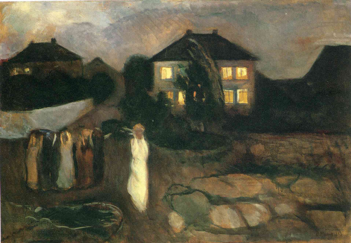 Edward Munch. Storm