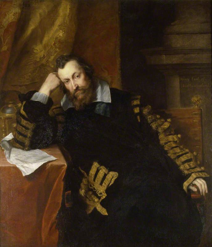 Anthony van Dyck. Sir Henry Percy, the 9th Earl of Northumberland