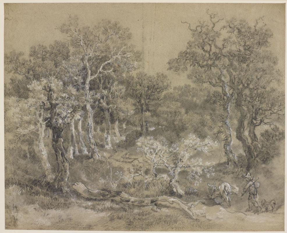 Томас Гейнсборо. Лесной пейзаж