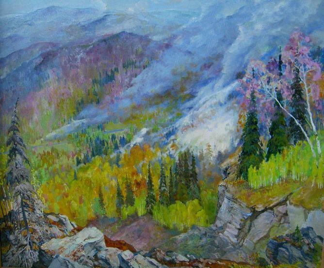 Victor Ivanovich Suzdaltsev. Gray Ural