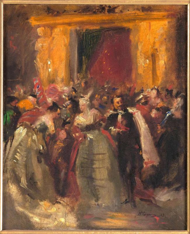 Жан Батист Карпо. Костюмированный бал во дворце Тюильри