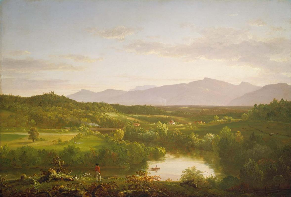 Томас Коул. Река в горах Катскилл