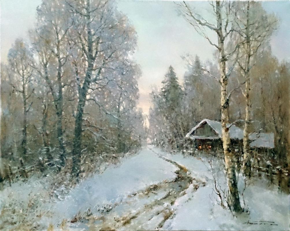 Alexander Markovich Kremer. Road in the forest
