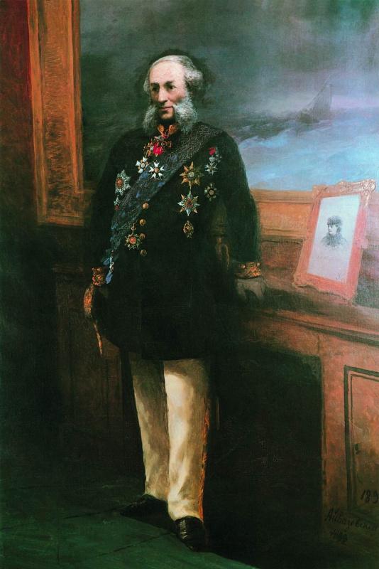Ivan Constantinovich Aivazovski. Self-portrait