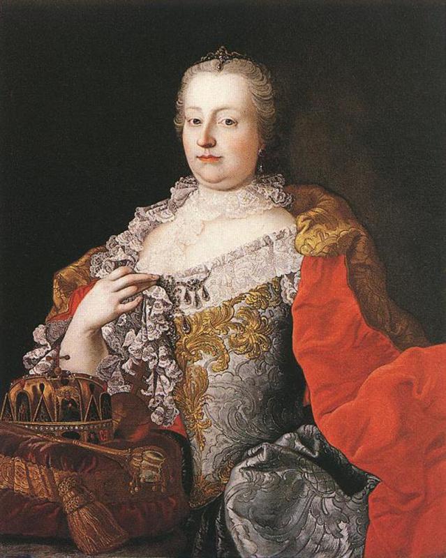 Мартин ван Мейтенс. Мария Терезия