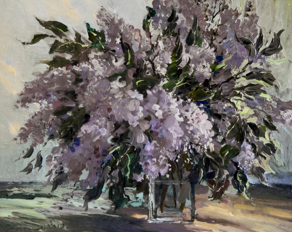 Boris Anatolevich Studentzov. Lilac