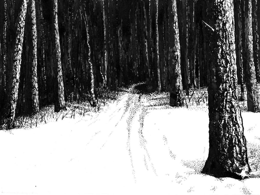 Vladimir Vasilyevich Abaimov. In the Middle of Winter 4