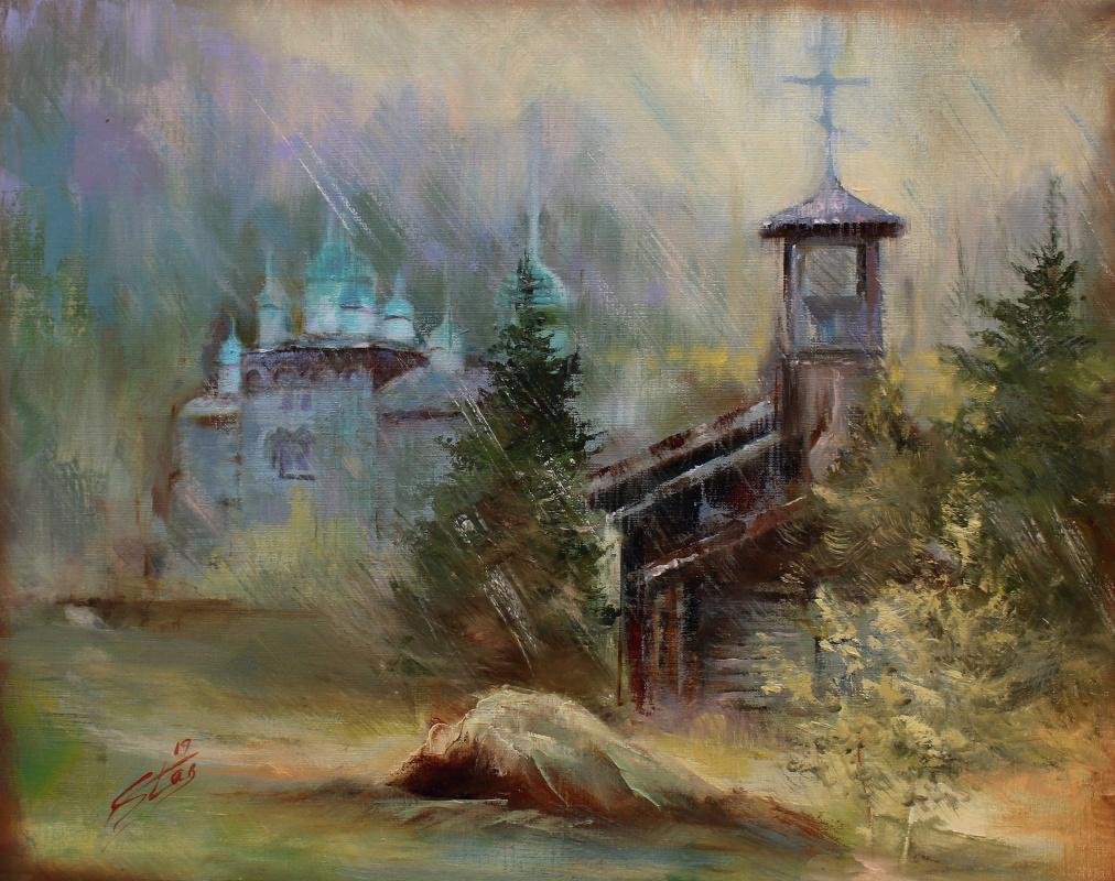 Valery Olegovich Starkov. Rainy autumn morning