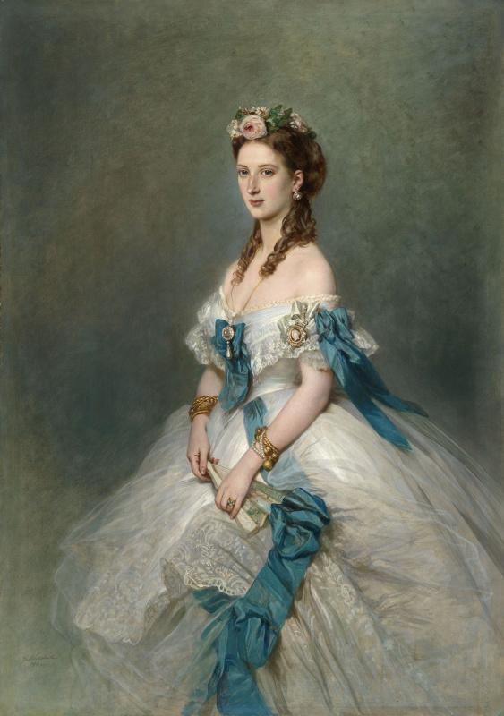 Franz Xaver Winterhalter. Alexandra, Princess of Wales