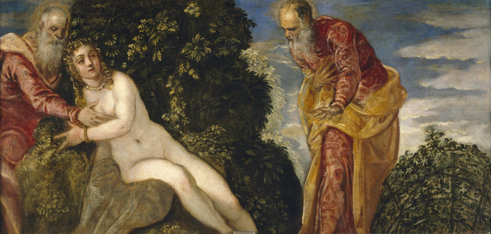 Jacopo (Robusti) Tintoretto. Susanna and the Elders