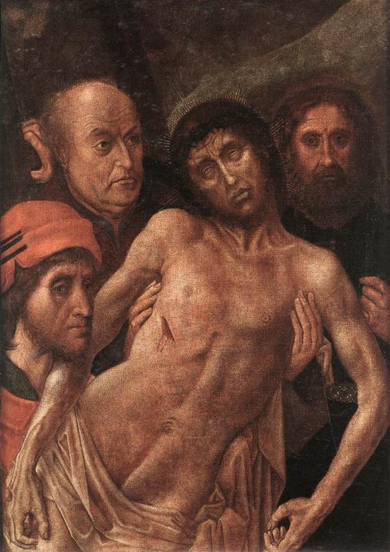 Ван Дер Гоес Гюго. Снятие с креста