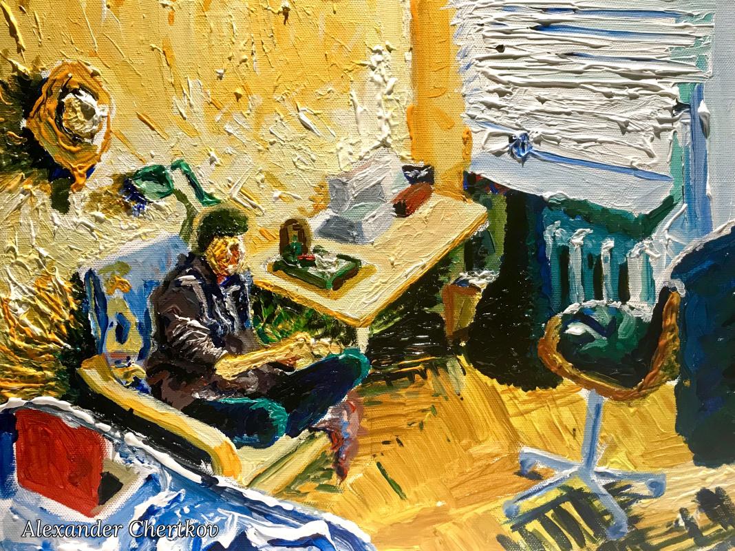 Alexander Chertkov. The room