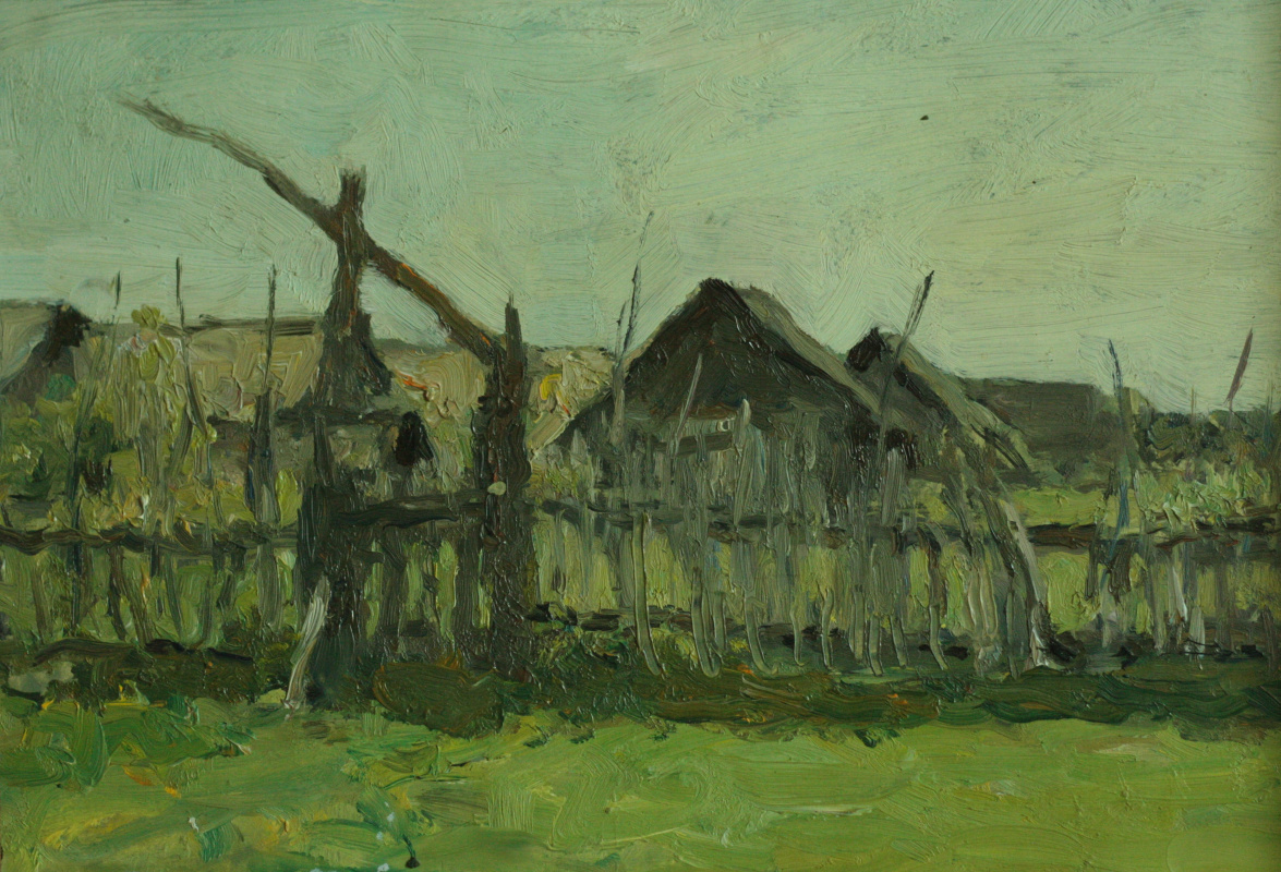 Mikhail Grebenkov. Old village