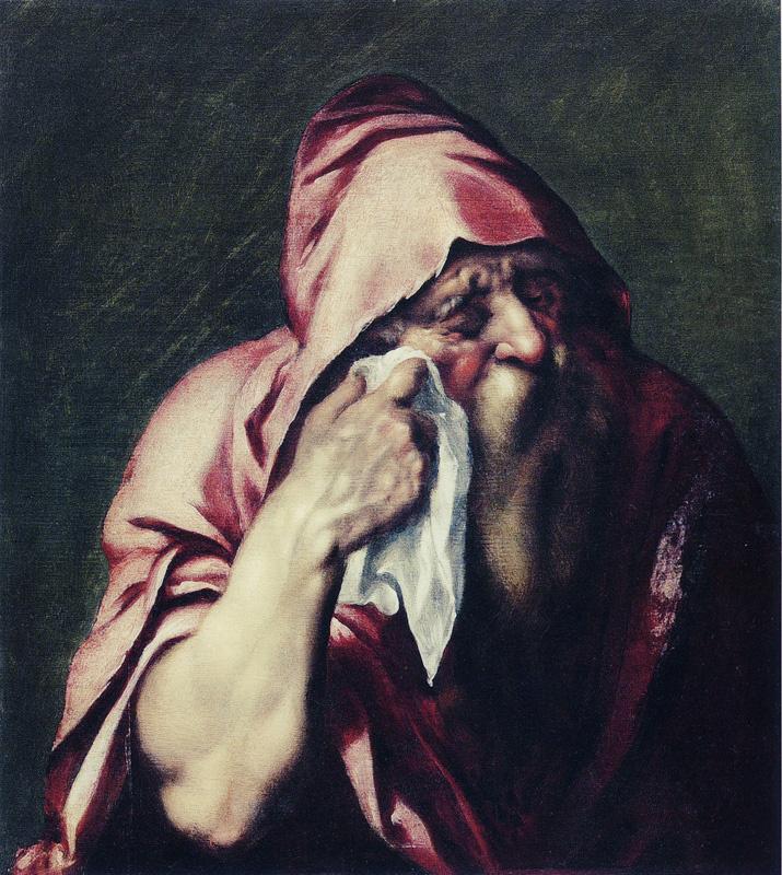 Jan Lievens. Heraclitus