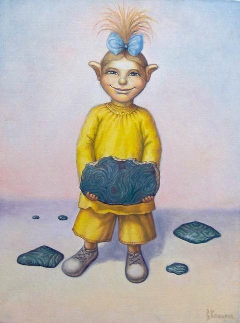 Stepan Vladimirovich Kashirin. Malachite girl