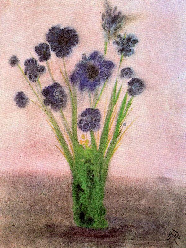 Мануэль Баеза. Цветы 3