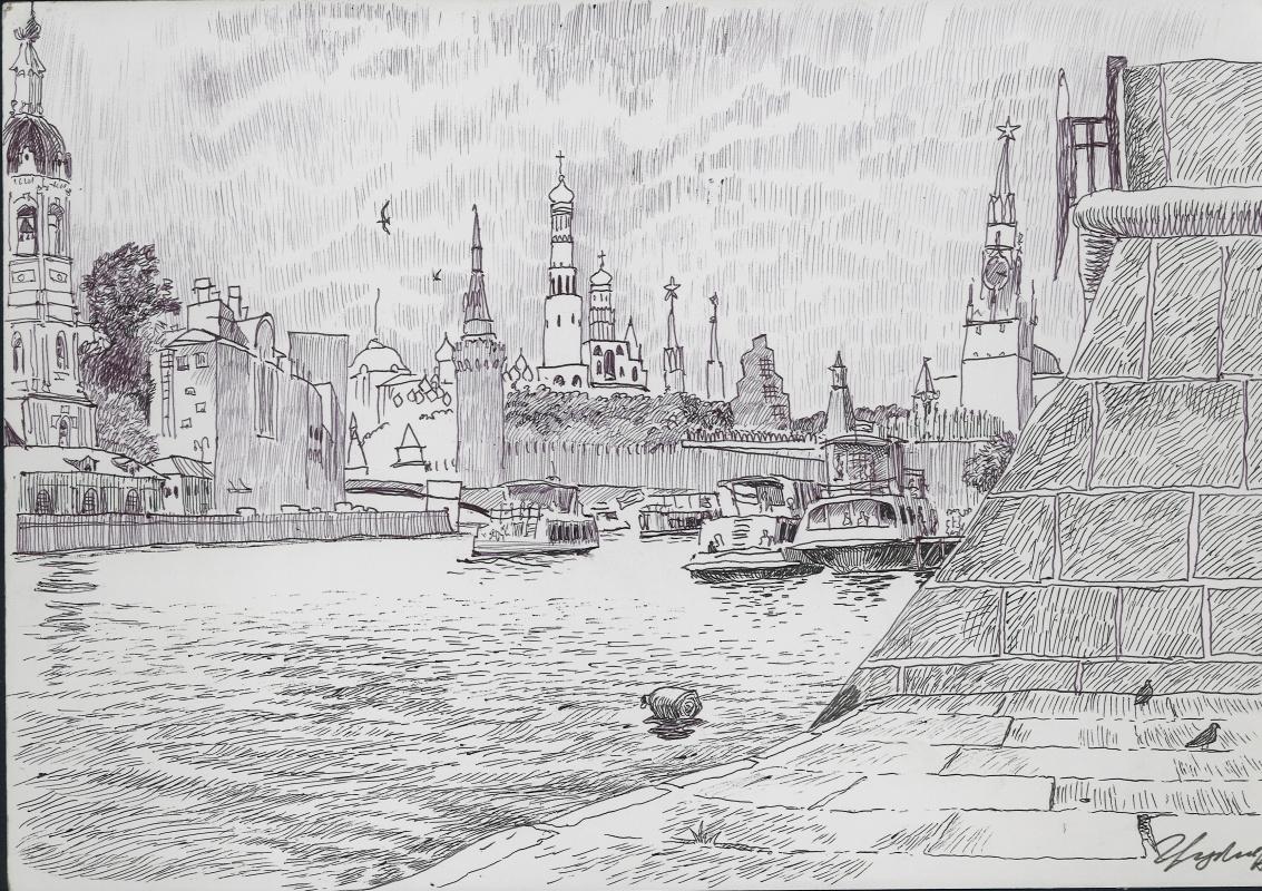 Степан Грудинин. Москва