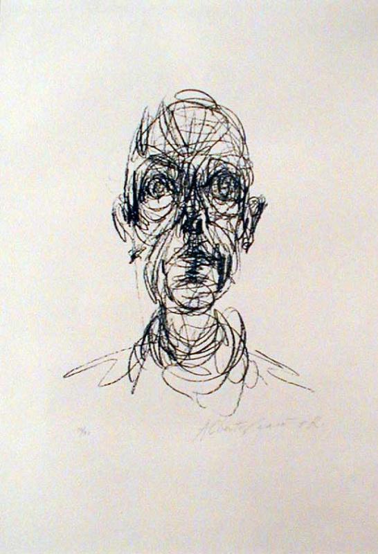 Альберто Джакометти. Голова