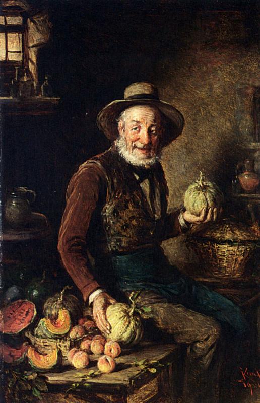 Продавец тыквы