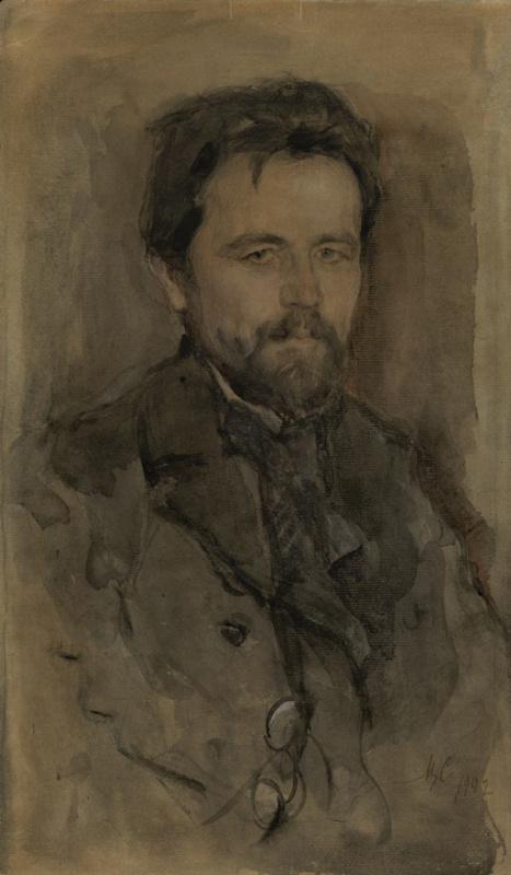 Валентин Александрович Серов. Портрет А.П. Чехова