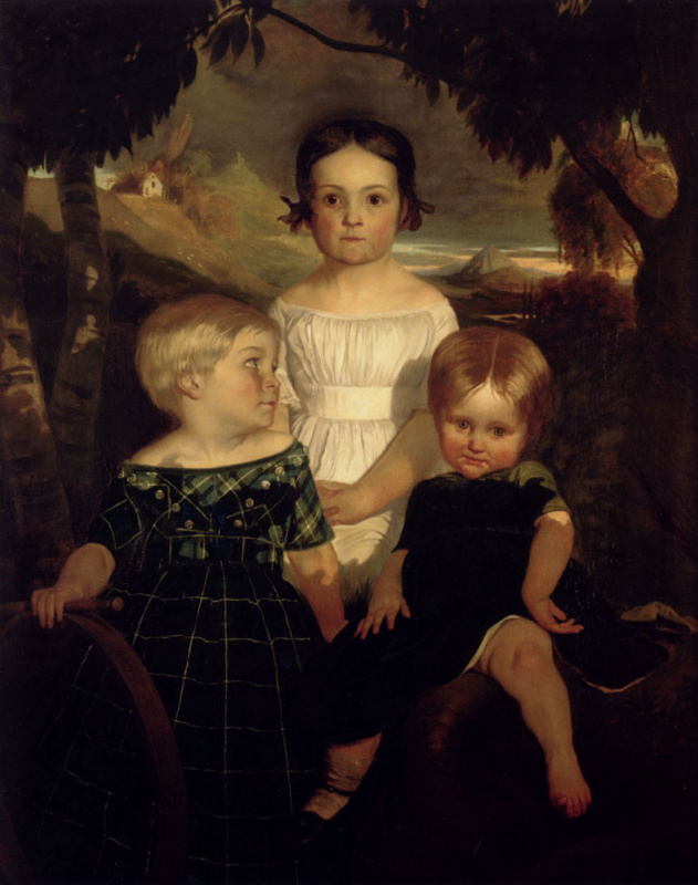 Ford Madox Brown. Children Bromley