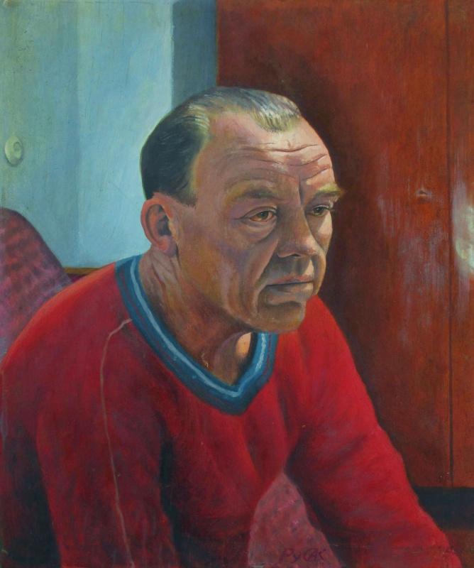 Алексей РуСАК. Портрет отца