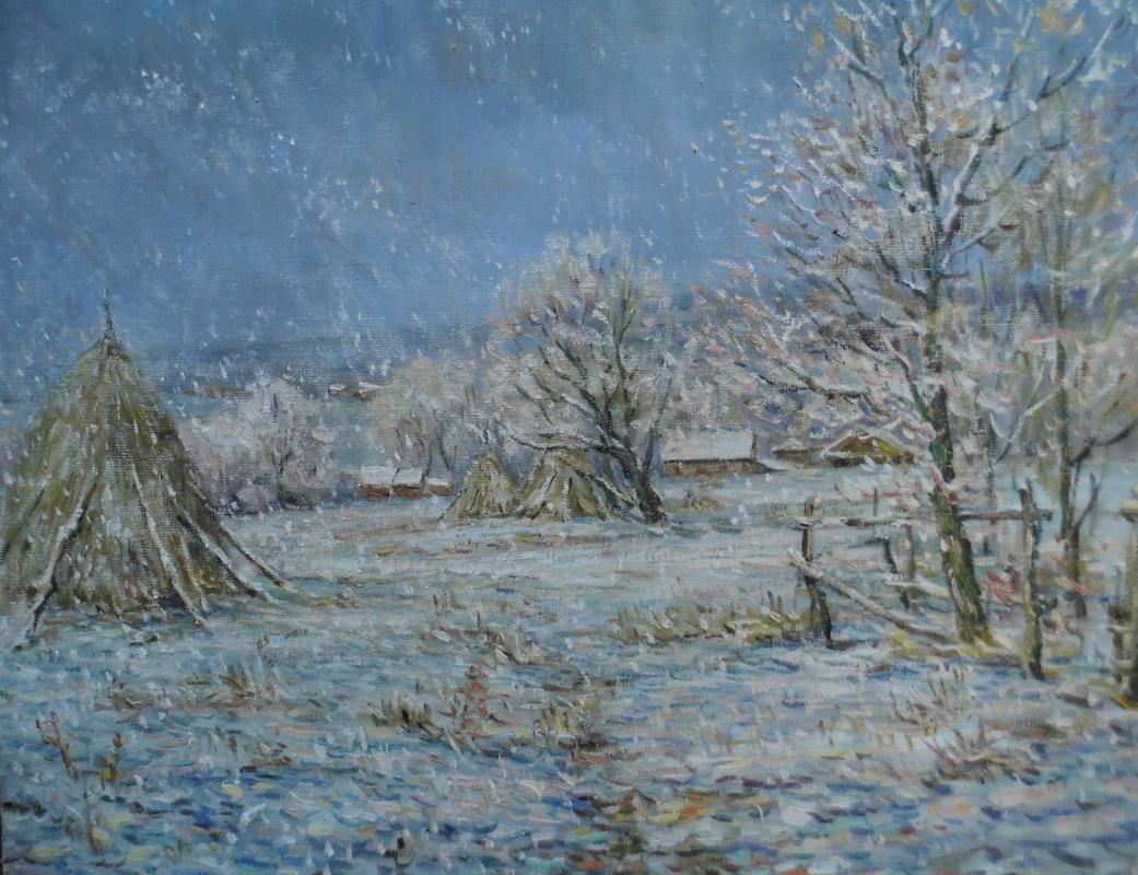 Victor Vladimirovich Kuryanov. Good snow