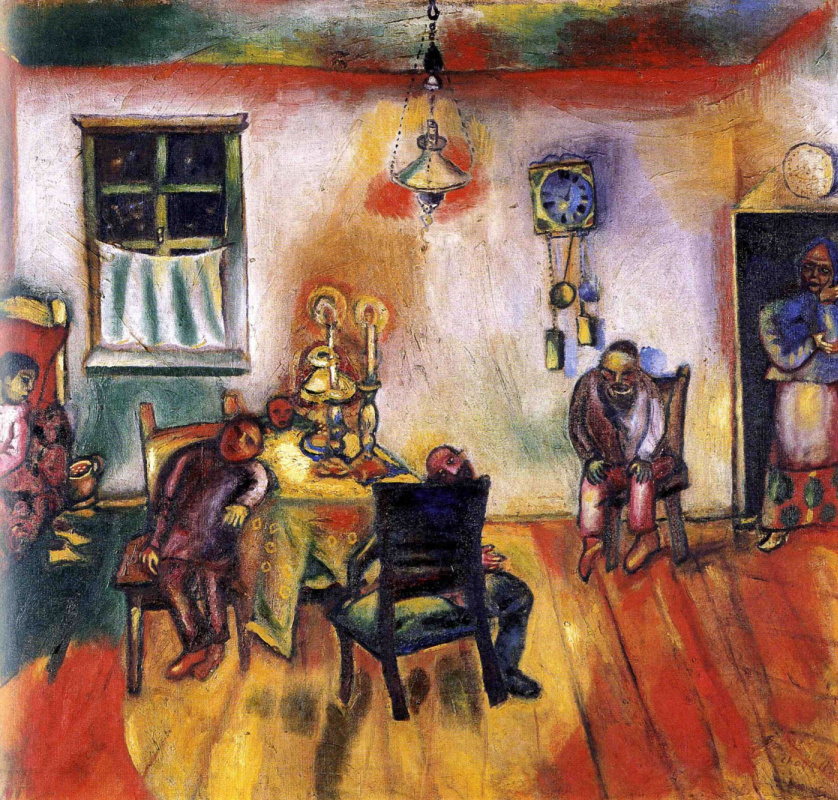 Marc Chagall. Saturday