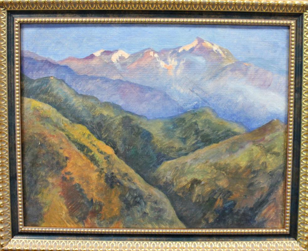 Osip Abramovich Sidlin. Caucasus