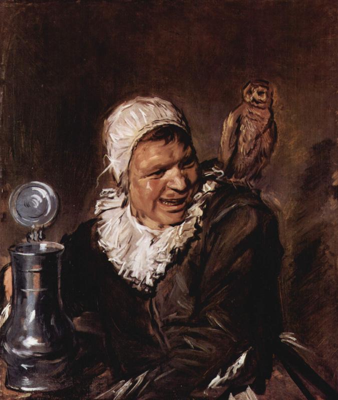 Frans Hals. Malle Babbe
