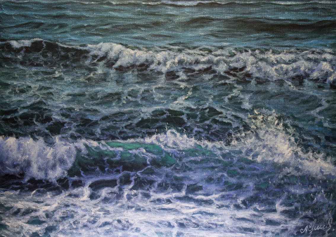 Valery Levchenko. № 565 Seascape.