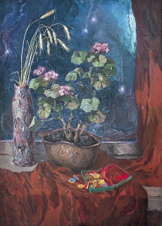 "Boris Anatolyevich Postnikov. ""Father's Medals"", triptych ""Memory"""
