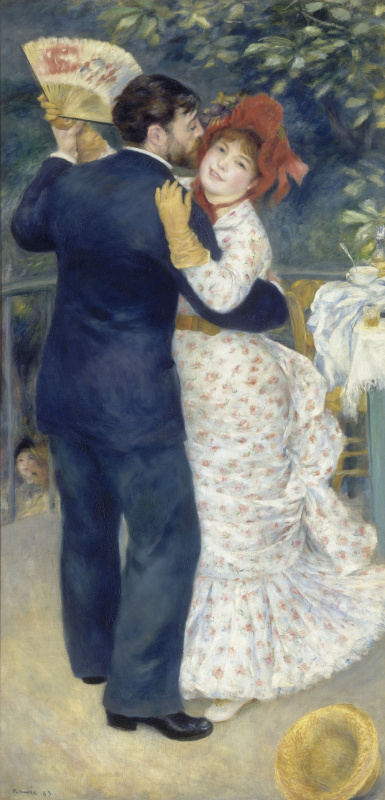 Pierre-Auguste Renoir. Rural dance