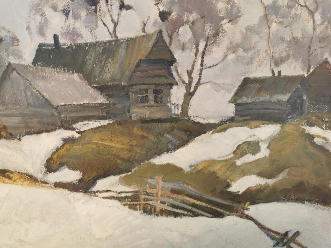 Shakalov. Early March