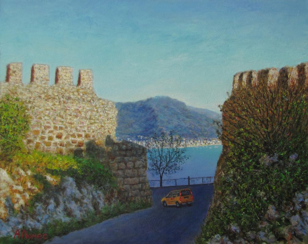 Andrew Lumez. Turkish coast
