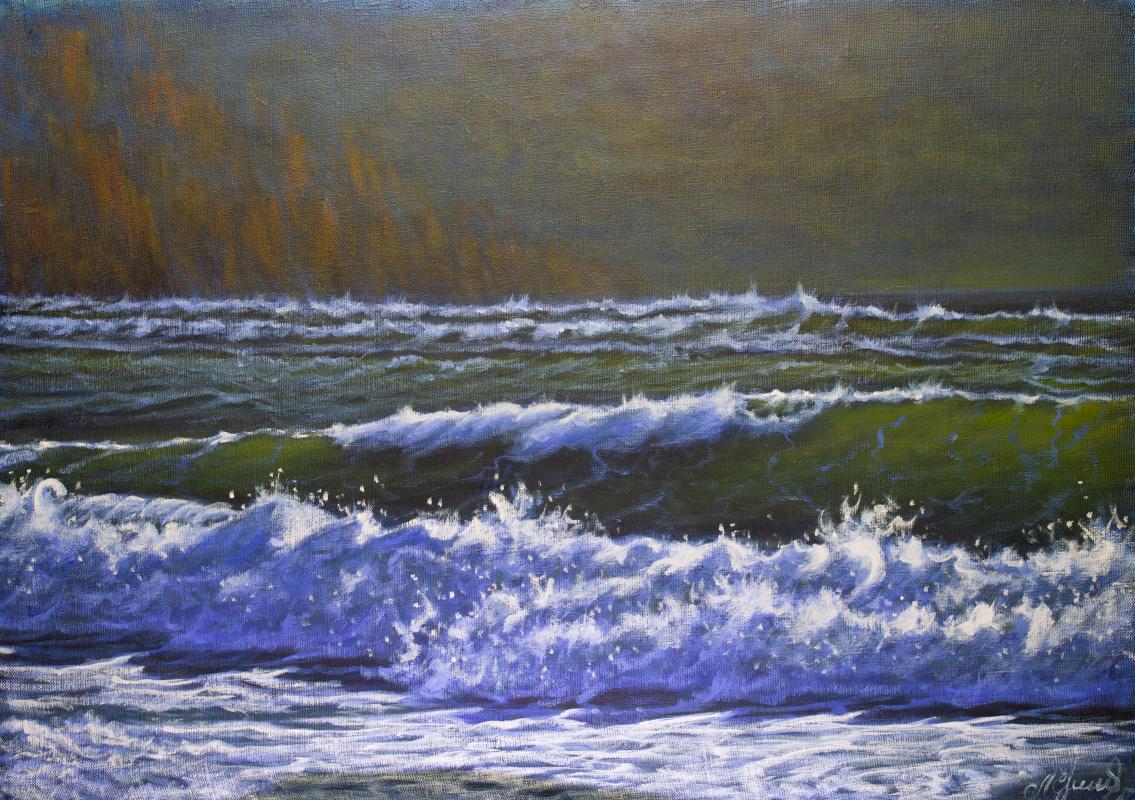Valery Levchenko. № 609  Морской пейзаж.